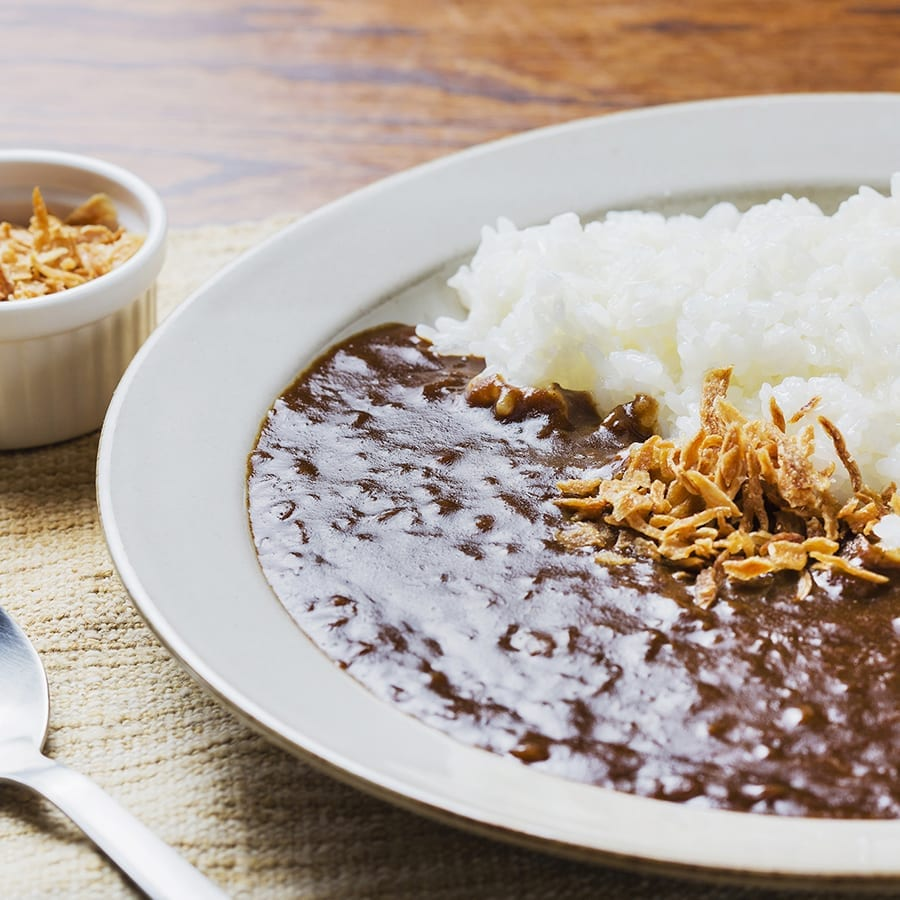 【 NIHONBSHI MUROMCHI SUMOTOKAN】Onion Curry with crispy onion topping